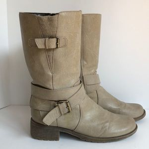 Natural Soul by Naturalizer mid calf boot 8 1/2